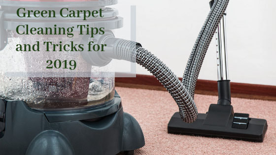green carpet cleaning tips